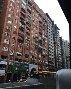 台北市内の街並み