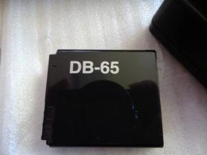 GR2のバッテリー:DB-65