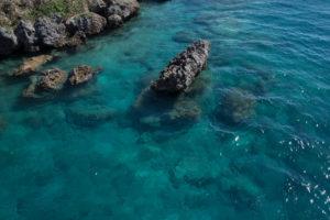 ターコイズブルーの海