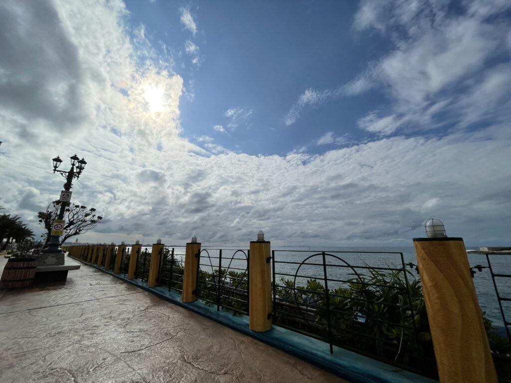 超広角レンズで撮影した風景写真