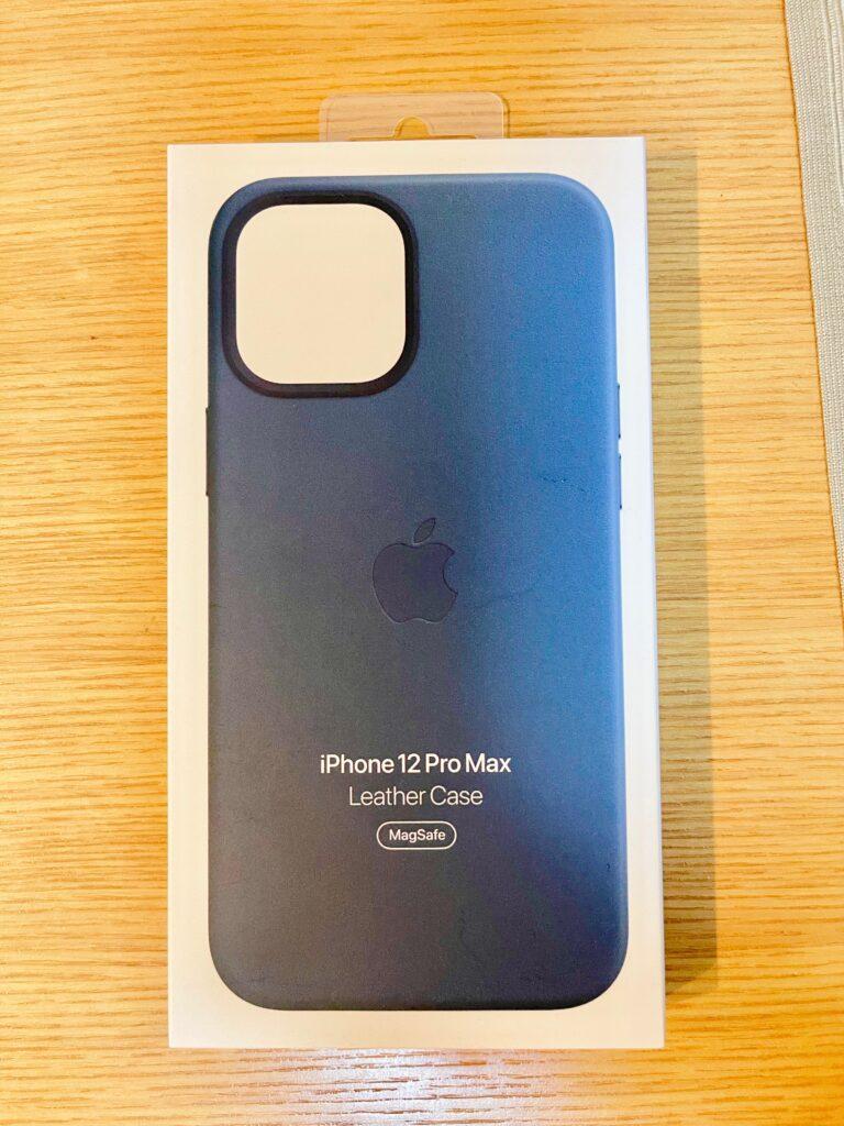 MagSafe対応iPhone 12 Pro Maxレザーケース - バルティックブルー