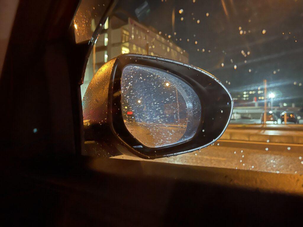 ナイトモードで撮影した夜景写真